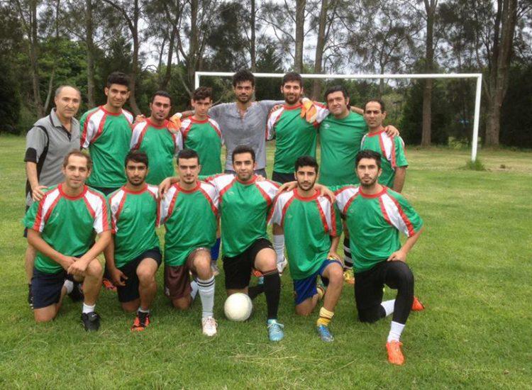 Iranian Football Team in Sydney